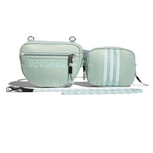 NWT Ivy Park x Adidas Small Mint Green Fanny Bag